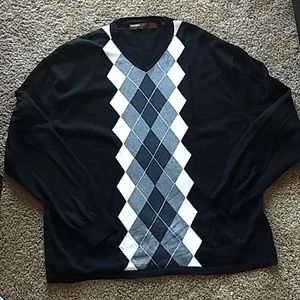 Perry Ellis Argyle Sweater